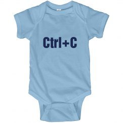 Ctrl+C Twins Onesie