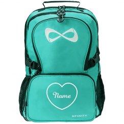 Custom Name/Initials Inside Heart Back To School Bag