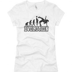 Girl wrestler Evolution