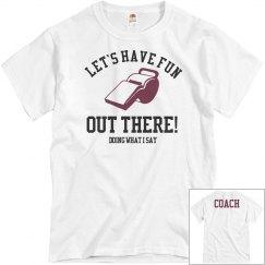 Funny Football Coach Shirt