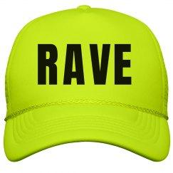 Rave Neon Yellow Hat