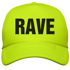 Rave Neon Yellow Hat