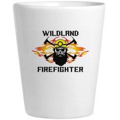 Wildland Firefighter Shot Glass