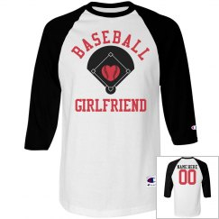 A Baseball Girlfriend Tee