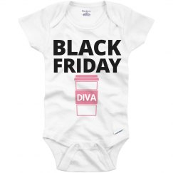 Black Friday Onesie