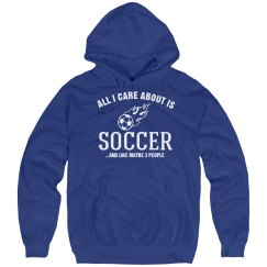 Care about is soccer