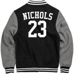 Nichols football jacket