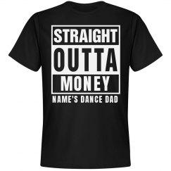 Custom Straight Outta Dance Dad