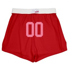 Custom Team Number Shorts