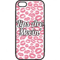 Lips Are Movin' iPhone Case