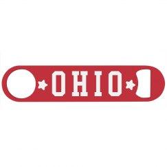 Ohio Football Bottle Opener