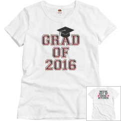 Grad of 2016-Out of here tee