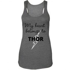 my heart belongs to thor