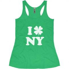 I Love St Patricks in New York