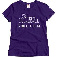 Happy Hanukkah Shalom