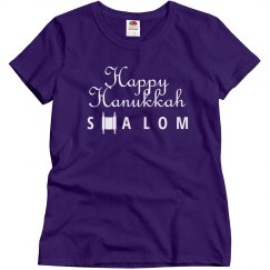 Happy Hanukkah Shalom