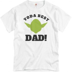 Yoda Best Dad Fathers Day