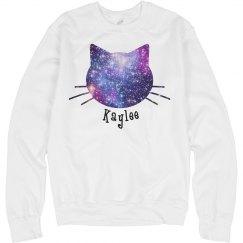 Personalized Galaxy Cat