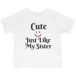 Cute like sister
