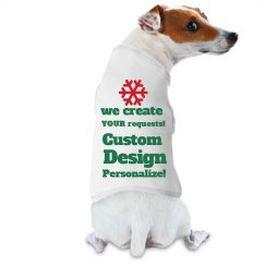 Custom Dog Tshirt