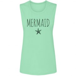 Mermaid Starfish At The Beach