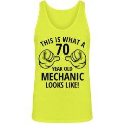 70 year old Mechanic