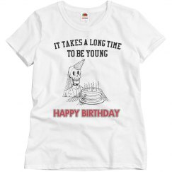 Long time to be young