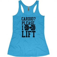 Who Does Cardio?
