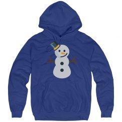 christmas snowman emoji