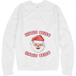 Jingle Bells Maternity Sweatshirt