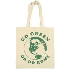 Go Green Or Go Home Tote