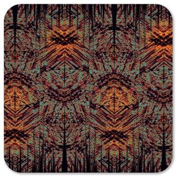 Abstract Tiki Tribal