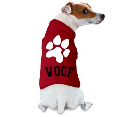 Cute Woof Doggy Coat