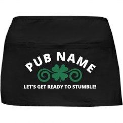 Funny Irish Pub St Pattys Apron