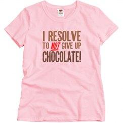 Chocolate Resolution