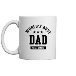 Best dad since 2005