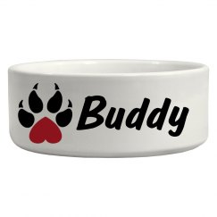 Buddy, Dog Bowl