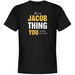 It's a Jacob thing