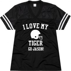 I Love My Tiger Jersey