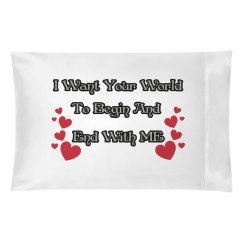 Quote Pillow Case