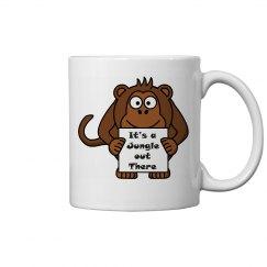 Monkey Mug - 11oz Ceramic Mug