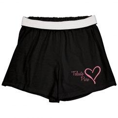 Black Cheer Shorts