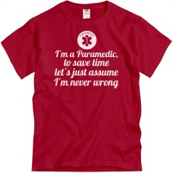 I'ma Paramedic