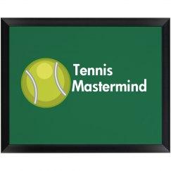 Tennis Mastermind Plaque