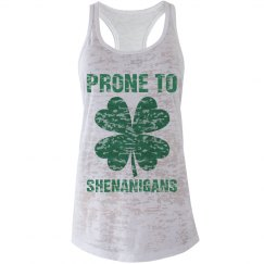 Prone To Shenanigans Shamrock