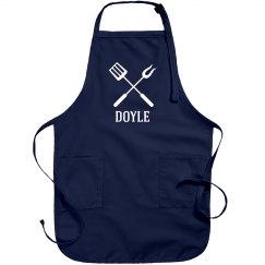 Doyle personalized apron