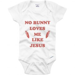Cute Easter Sunday Baby Onesie