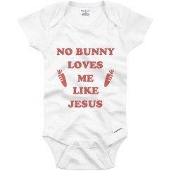 Cute Easter Sunday Baby Onesie