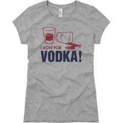 Vote For Vodka