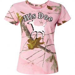 COUPLES SHIRT FOR HER - His Doe